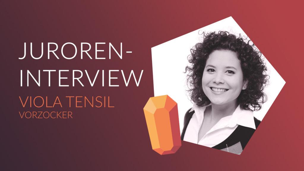 JUROREN-INTERVIEW MIT VIOLA TENSIL