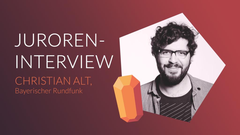 JUROREN-INTERVIEW  MIT CHRISTIAN ALT